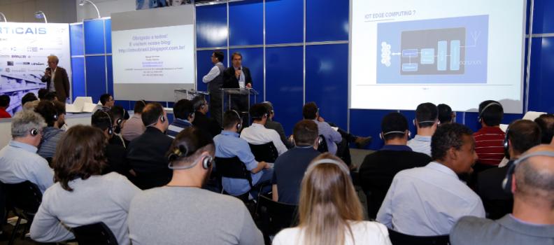 IoT Latin America: em palestras com auditórios lotados, especialistas abordam as possibilidades de crescimento econômico com uso das novas tecnologias