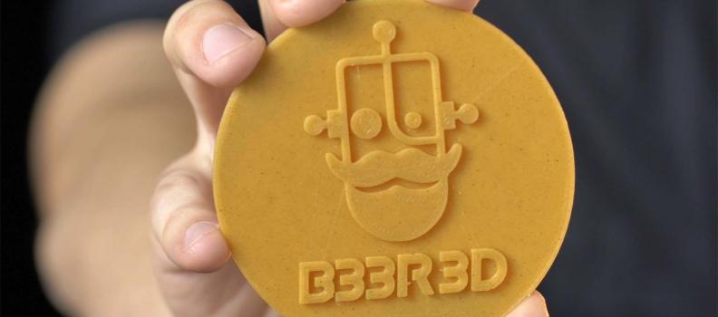 Pratinha lança site de conteúdo para impressão 3D e filamento de resíduo de cerveja