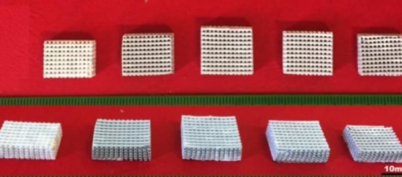 Material bioativo é produzido por impressão 3D